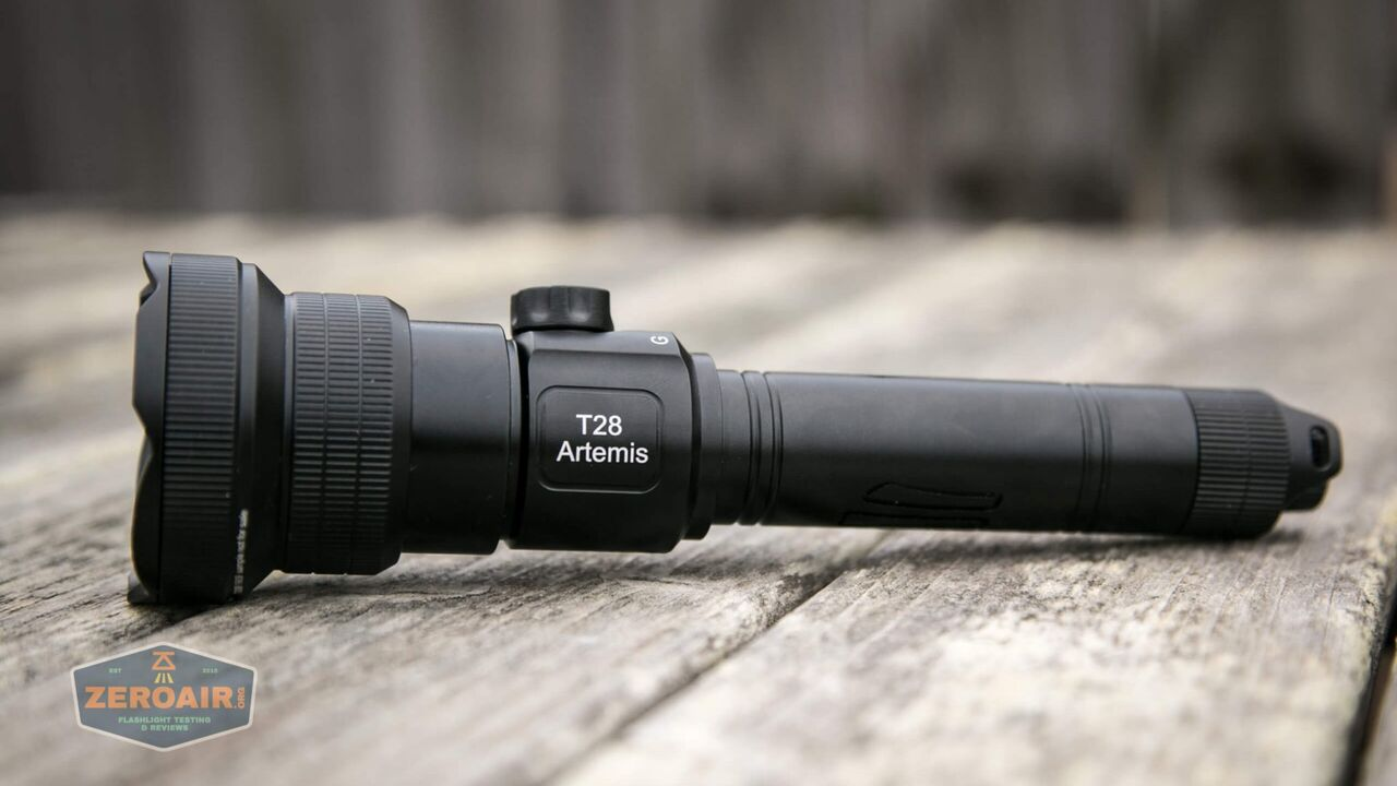 Brinyte T28 Artemis hunting light