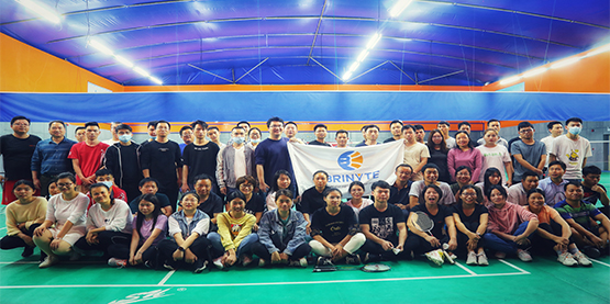 Happy Lantern Festival-Brinyte Family Badminton Contest